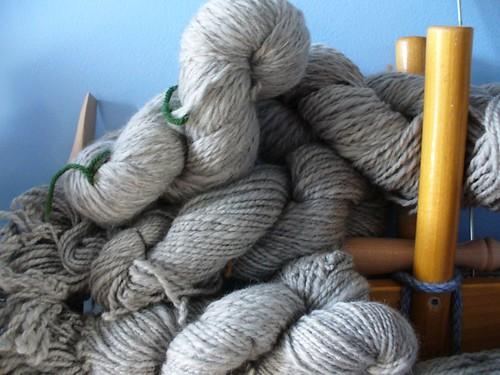 gray Shetland for sweater