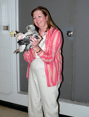 Karen and One of the 2007 Wacker Chicks!