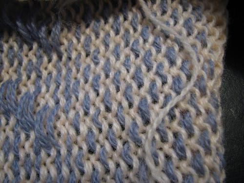 Pre-felting knit-weave