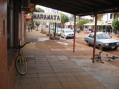 Virasorro, une ville poussiereusement marron