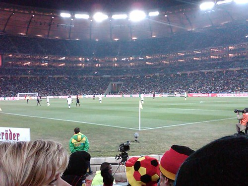 Germany scores one against Ghana
