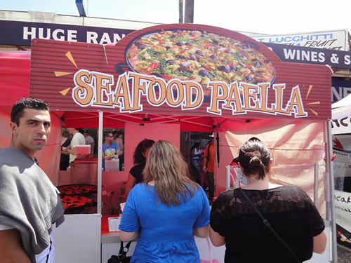 Norton Street Italian Festa: Seafood paella