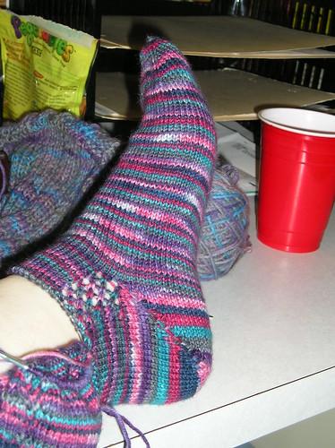 Hand Painted Socks