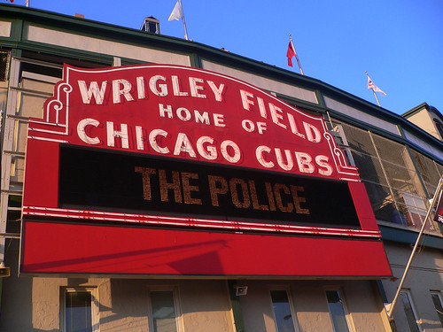 "Wrigley Field presents ""The Police"""