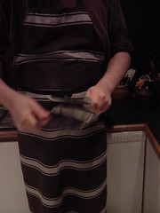 me sharpening a cleaver