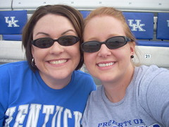 My first  UK game with Kelly