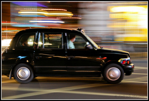 An Inteview with a London Cabbie - London cab