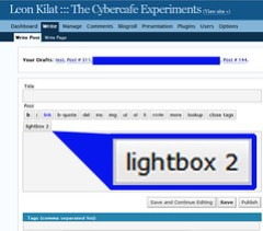 Lightbox plugin