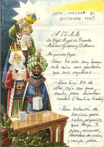 Carta reyes magos navidad 1984 (2)