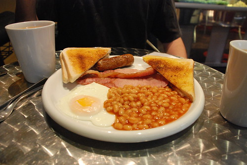 Full fry-up at Gardiner's