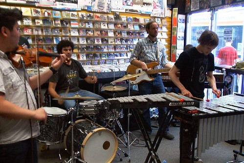 Hylozoists live! in-store performance at Music Trader on June 25 2007