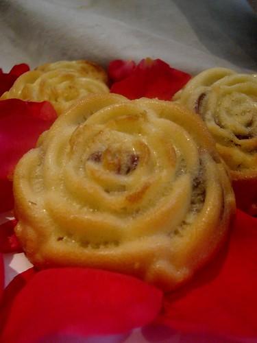 Rose Petal Madeleines