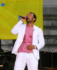 John Legend making hearts flutter