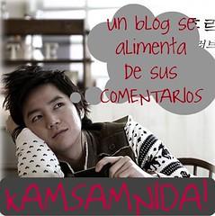 comentarios kamsamnida