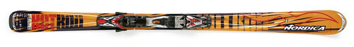 Nordica, Hotrod, Afterburner XBS, Skis, 2008