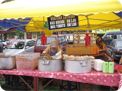 Briyani stall
