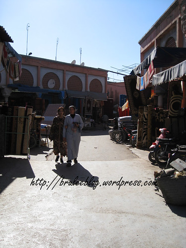 permanent part of the souk
