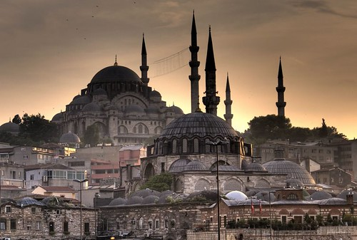 Süleymaniye Camii sunset - Istanbul
