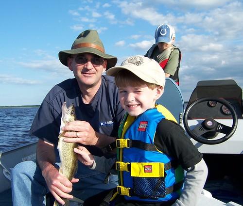 Steve and Scott with 17 inch walleye.jpg
