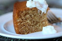 Honey Cake, half eaten 2