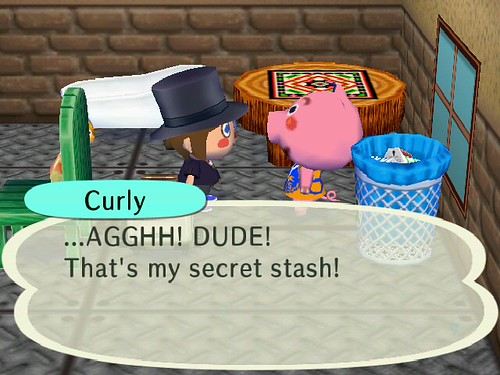 What secret stash?