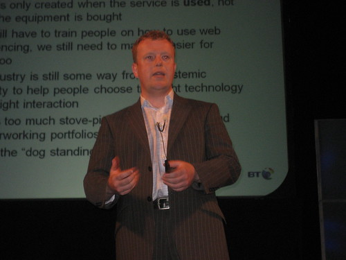 Aaron McCormack, CEO of BT Conferencing