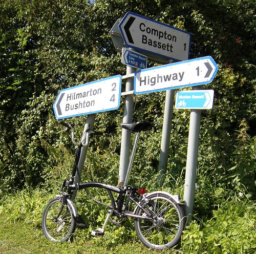 Brompton with Signpost, Highway