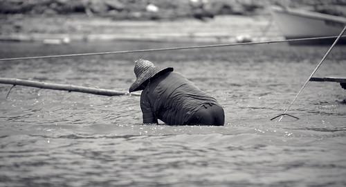 Praktik i floden