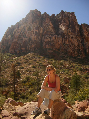 Allison at Pine Creek Canyon