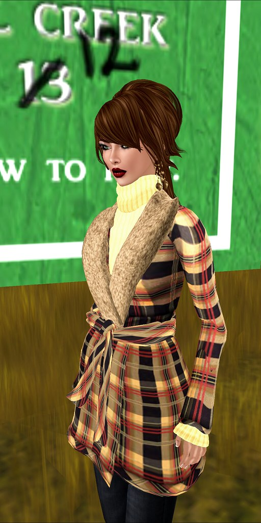 JANE - Mrs Luv Jacket - Autumn Plaids
