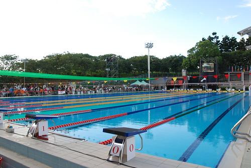 2007聽障游泳錦標賽-比賽游泳池