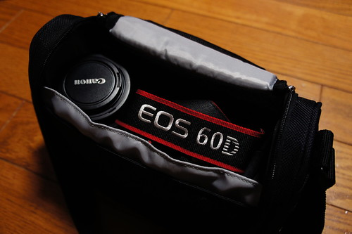 Canon EOS 60D ちらり