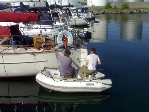 Equipment: Choosing and fitting a wind vane (5/6)