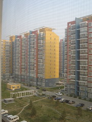 New appartment blocks in Beijing