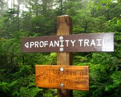 Profanity Trail
