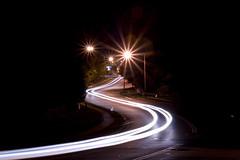 Roads At Night: Slow Night