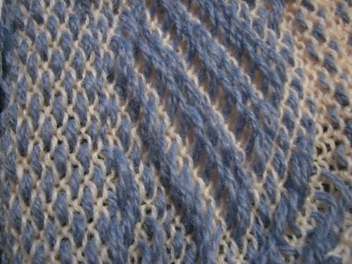 Per-felting knit-weave