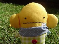 Fabine: Primeira boneca do .marcamaria