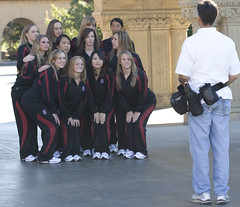 Stanford's Synchronized Swim Team