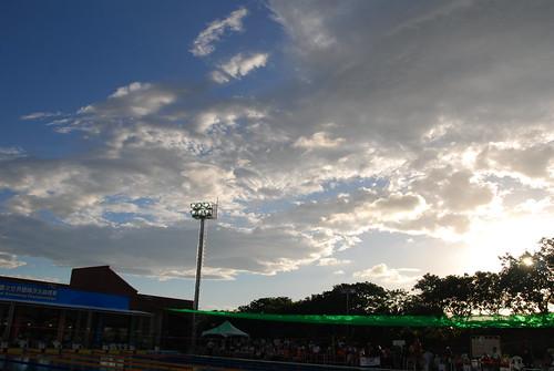 林口體育�院的藍天