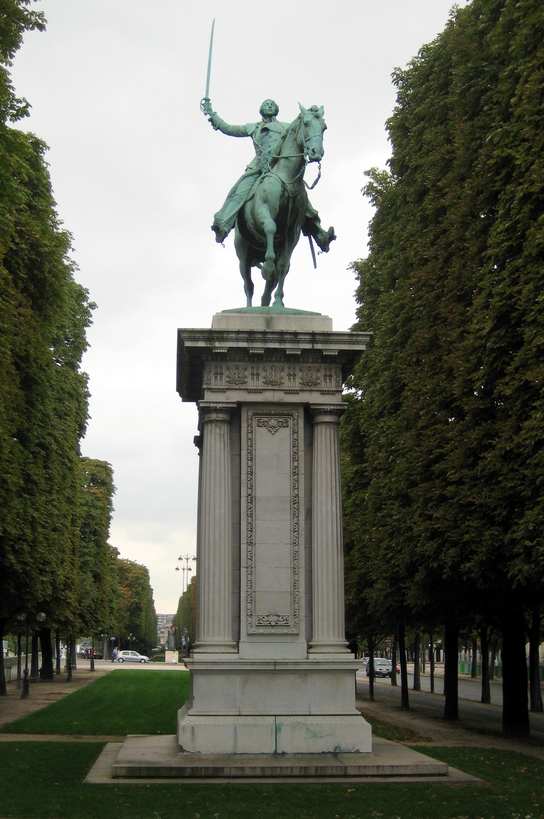 Lafayette statue, Paris