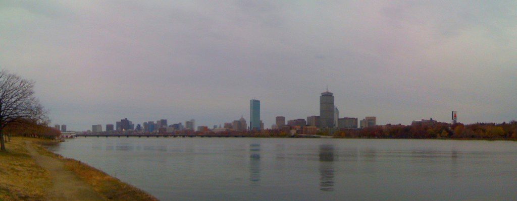 A gray Autumn day in Boston