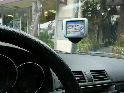 GPS in Zipcar