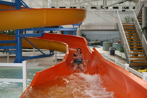 On the Waterslide