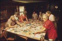 Senior Citizens in New Ulm, Minnesota, Making ...