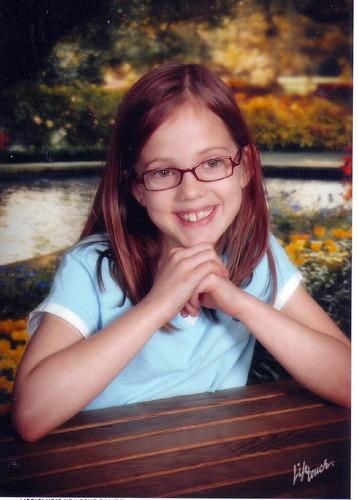 Alexandra - 8 years old - May 2007