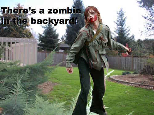 Zombie game that was too scary for my fifth graders