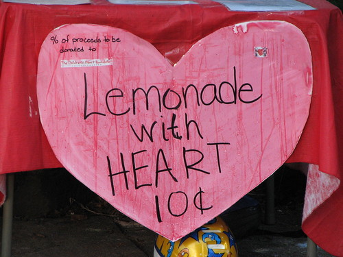 Lemonade With Heart