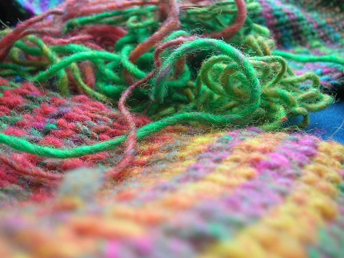 Noro Scarf Details