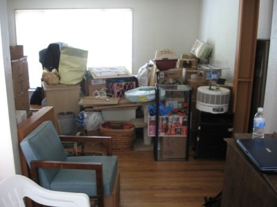A portion of our possessions